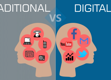 Digital vs Traditional Marketing!